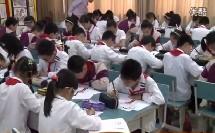 浙美版六年级美术下册《用线画人物》教学视频,2014年优质课