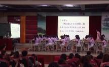 小学语文三年级《一面五星红旗》教学视频2
