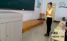 学前教育15班:幼儿中班艺术领域《粉刷匠》试讲视频