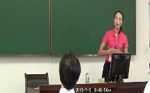 初中体育七年级教师说课比赛视频《蹲距式起跑》陈姿娟