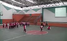 人教版小学体育与健康《原地单跳双落与游戏》教学视频,巫溪县珠海实验小学