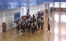 人教版小学体育与健康《篮球 行进间运球》教学视频,天津市滨海新区塘沽桂林路小学