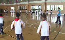 人教版小学体育与健康《单手持轻物掷远与游戏》教学视频,苏州市相城区陆慕实验小学