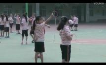 人教版小学体育与健康《单手持轻物投准》教学视频,郑州市金水区文化路第二小学