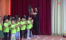 2017年郑州市幼儿园安全教育活动优质课小班《我会安全过马路》教学视频,马黎