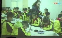 小学书法课《竖》教学视频,山东省小学书法教学研讨会观摩课课堂