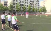 人教体育与健康课标版三至四年级《立定跳远分层练习》教学视频,获奖课视频