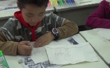人教美术课标三年级下册《快乐的节日》教学视频,获奖课视频