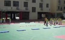 小学体育人教版五六年级《1.50 米快速跑的完整技术与游戏》江西张帆