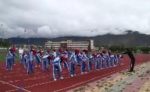 《50米快速跑》优质课(初一体育与健康,夏多扎西)