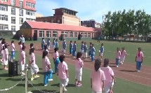 《队列队形:稍息、立正》优质课(科学版一年级体育,内蒙古市级优课)