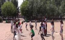 《单双圈-原地拍球》优质课(科学版一年级体育,王少伟)