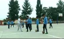 《篮球-进行间单手肩上投篮》优质课(人教版初一体育与健康,马金德)