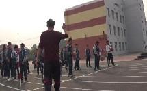 《篮球行进间体前变向运球》优质课(人教版初一体育与健康,铁岭市县级优课)