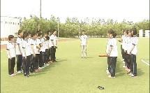 《原地侧身投掷实心球》优质课(初一体育与健康,付晨曦)