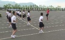 《快速跑:用自然站立式做各种突发信号的起跑》优质课(科学课标版一年级上册体育,姜璟莹)