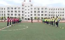 《足球-脚背正面运球》人教版初一体育与健康,刘同峰