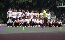 《足球-脚背正面运球》人教版初一体育与健康,傅峰