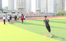《足球-脚背外侧运球》人教版初一体育与健康,张鹏