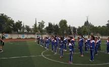 《足球-脚内侧踢球》人教版初一体育与健康,高峰