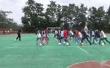 《足球-脚内侧踢球》人教版初三体育与健康,张振魁