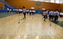 人教版高中体育与健康《足球变向运球技术》(高中体育与健康教师参赛获奖课例教学视频)