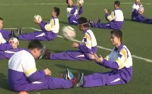 人教版高中体育与健康《足球原地正面头顶球》(高中体育与健康教师参赛获奖课例教学视频)