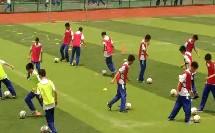 人教版高中体育与健康《足球脚内侧运球》(高中体育与健康教师参赛获奖课例教学视频)