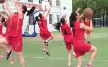 人教版高中体育与健康《行进间运球接单手肩上投篮》(高中体育与健康教师参赛获奖课例教学视频)