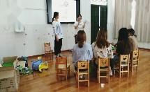 大班音乐节奏活动《粉刷匠》(幼儿园课堂教学模拟试讲教学实录)
