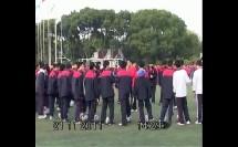 《足球-脚内侧踢球》人教版初一体育与健康,王俊杰