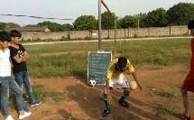 《足球-脚内侧踢球》人教版初一体育与健康,李开辉