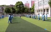 人教版初中体育与健康七年级《排球正面双手垫球》获奖课教学视频