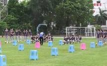 人教版初中体育与健康七年级《足球:脚背内侧运球技术》获奖课教学视频