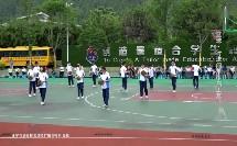 17八年级室外体育课《篮球-行进间单手肩上高手投篮》教学视频,中国教育学会与卫生分会十四城市中小学体育教学改革研讨会