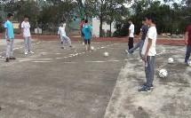 《足球脚内侧运球》人教版初一体育与健康,刘洪旺