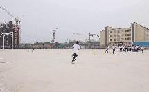 《足球-脚内侧运球》人教版初一体育与健康,陈刚