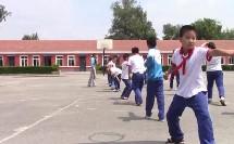 《武术:动作组合》科学版四年级体育,刘小虎