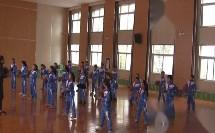 《小篮球-原地运球》科学版四年级体育,安康市级优课