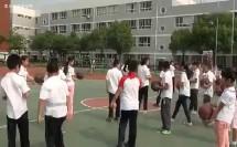 南京市小学体育优质课_杜昌盛《行进间单手肩上投篮》