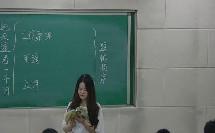 河北大学版初中语文八年级上册《巡天遥看一千河》(2017年初中语文获奖课例教学实录视频)