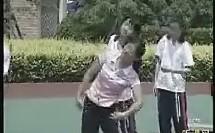 纵箱前滚翻 弄堂游戏(上海市初中体育教师说课与教学实录优质课视频)