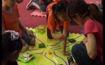 幼儿大班数学活动《走小路》【王霞】(幼儿园优质课研讨教学视频)