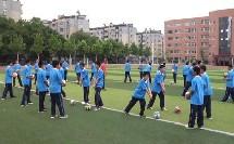 七年级体育《排球-正面双手垫球》教学视频-尹洪亮