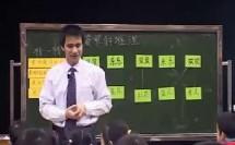 小学数学《简单的统计》教研示范课教学视频