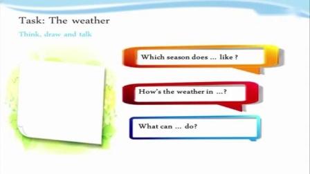 沪教版四年级年级上册Module 4 The world around us Unit 12 Weather长春