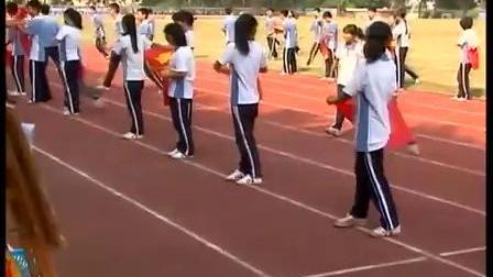 九年级体育优质课展示《终点跑》张老师