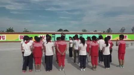 小学体育与健康人教版7.多种形式的接力跑与游戏迎面接力跑-陕西省优课