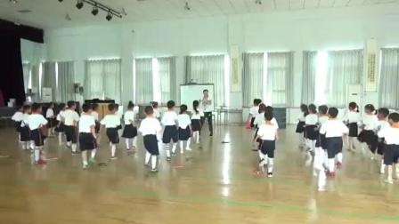 人教版小学一年级体育与健康《乒乓球握拍的方法》陕西省优课