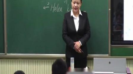 外研版六年级英语下册M7U2 She couldn't see or hear山东省优课